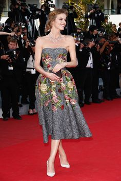 Best Red Carpet Looks at the 2014 Cannes Film Festival - Best Fashion Looks at th 67th Cannes Film Festival - Elle