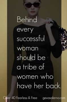 Behind every successful woman should be a tribe of women who have her back. Empowerment Quotes, Women Empowerment, Great Quotes, Inspirational Quotes, Motivational Quotes, Successful Women, Woman Quotes, Babe Quotes, Truth Quotes