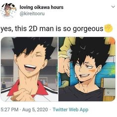 Kuroo Haikyuu, Kuroo Tetsurou, Haikyuu Funny, Anime Boys, Anime Manga, Memes, Volleyball Anime, Kuroken, Another Anime