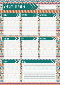 You can now download my PLANNERS, STUDY TIMETABLES & OTHER PRINTABLES for…