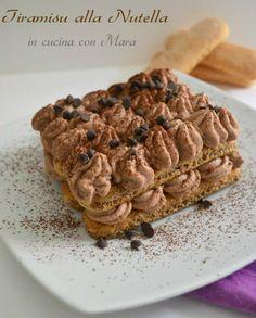 Tiramisu alla Nutella ricetta senza uova | in cucina con Mara