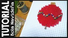 TUTORIAL: Bola Navideña de hama bead | Fabricando Arte