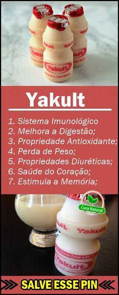 Os 10 Benefícios do Yakult Para Saúde! #yakult #beneficiosyakult #yakultcomposição #yakultbeneficios #yakultingredientes #dicasdesaude #saudedica #beleza #mulher #natural #caseiro #receita #receitasfit #receitacaseira #receitafácil #tuasaude #melhorcomsaude #globoreporte #bemestar #saúde #nutrição #alimentação #health #healthyrecipes #healthyeating #saludable Healthy Living, Food And Drink, Low Carb, Nutrition, Healthy Recipes, Breakfast, Whole Foods, Fruit Benefits, Clean Eating Tips