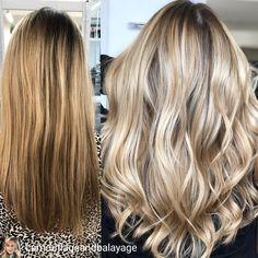 Warm Blonde, Blonde Balayage, Cosmetology, Hair Highlights, Beauty Nails, Dyed Hair, Hair Inspiration, Locks, Hair Makeup