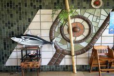 Rest Tatsukushi tile art in Kochi