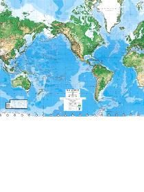 Wallpaper World map for the kids room...saw this online on pottery barn but was too expensive to ship to india!!