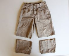 how to re-purpose boys pants into shorts (and save some money in the process)