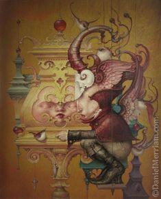 """True Plumb"" ~ Daniel Merriam ~ Watercolorist Extraordinaire ~ Miks' Pics ""Daniel Merriam ll"" board @ http://www.pinterest.com/msmgish/daniel-merriam-ll/"
