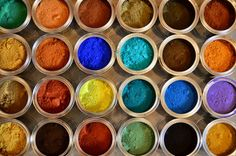 Natural Earth & Mineral Pigments - All Unearthed Paints are tinted with natural earth and mineral pigments.  These pigments give our paint a depth and radiance that cannot be mimicked by the chemical colorants used in conventional paints.