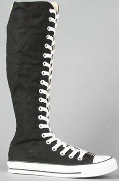 c194b0f5759e The Chuck Taylor All Star XX-HI Zipper Sneaker in Black by Converse Use Rep  Code  Novacaine