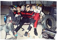 BTS WAR OF HORMONE J-HOPE JUNGKOOK & JIMIN Poster
