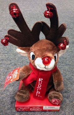 Musical Rudolph The Red-Nosed Reindeer Plush with Jingle Bells & Light-up Nose by Rudolph The Red-Nosed Reindeer, http://www.amazon.com/dp/B00A8WQY0K/ref=cm_sw_r_pi_dp_QZqSrb17XYNQ5