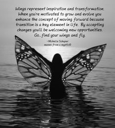 I already find my wings ! And loving it G Spiritual Motivational Quotes, Inspirational Quotes About Success, Great Quotes, Positive Quotes, Me Quotes, Inspire Quotes, Wisdom Quotes, Spiritual Inspiration Quotes, Butterfly Quotes