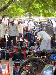 BombayJules: The Mumbai Dabbawalas - Dabba Dabba Do! A sea of dabbas