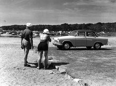Photo de vacances. Août 1959. Robert Doisneau
