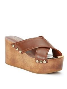 Rachel Zoe Maddi Backless Platform Sandals