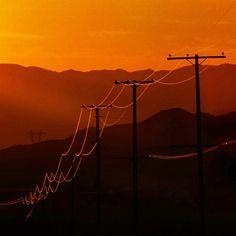 Power Line Road Mojave National Preserve  #nationalpark #landscape #powerlines #sunsets #artphotography #artteacher #travel #traveling #theme #landscape_lovers #centerfordigitalarts #californiacenterfordigitalarts #bobkillenarts
