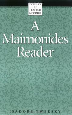 Maimonides Reader by Isadore Twersky http://www.amazon.co.uk/dp/0874412064/ref=cm_sw_r_pi_dp_5Zelvb12N9NTR