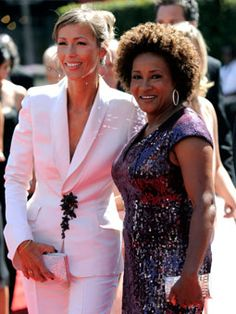 Wanda sykes and her wife Alex