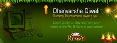 Dhanvarsha Diwali Rummy Tournaments Awaits you....  Login today to play and win your share of Rs.8 Lakhs in cash prizes...   https://www.classicrummy.com/diwali-rummy-tournaments?link_name=CR-12