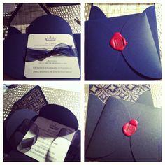 PTD | Handmade Royal Baby Shower Invitations #ptd #handmade