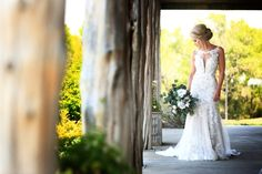 Photographer: Keller Photography Venue: Scattered Acres Celebrations of the Heart Bride Lace Mermaid Wedding Dress, Mermaid Dresses, Wedding Dresses, Wear Store, Formal Wear, Celebrations, Special Occasion, Bridesmaid, Prom