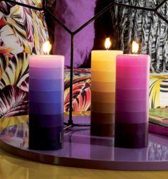Missoni Home Retrospective 2006-2009 www.missonihome.com home decor, design, interior, decoration, candle