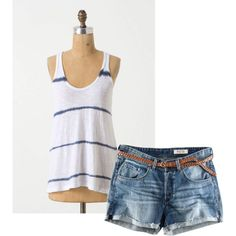 summer, created by susie-shaffer-campbell on Polyvore
