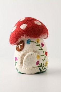 mushroom house...