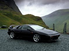 Lotus Esprit V8. The same body style for so long yet still so cool!