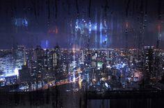 Cyberpunk, sci-fi, industrial fueled visions