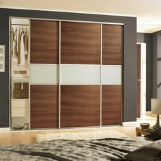 57 Ideas for bedroom furniture layout small space saving Wardrobe Door Designs, Wardrobe Design Bedroom, Bedroom Bed Design, Bedroom Furniture Design, Wardrobe Doors, Furniture Layout, Sliding Wardrobe, Wardrobe Handles, Modern Wardrobe
