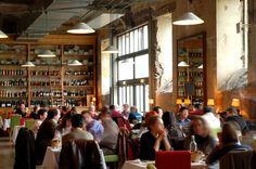 restaurant - Le lieu Unique - Nantes - architecte : Patrick Bouchain