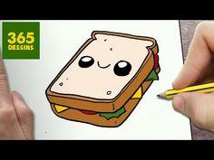 KAWAII ALIMENTAIRE - YouTube Cute Little Drawings, Cute Easy Drawings, Cute Kawaii Drawings, 365 Kawaii, Kawaii App, Doodle Drawings, Doodle Art, Drawing Journal, Kawaii Doodles