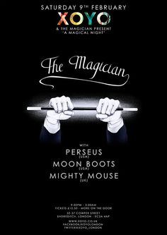 View the 'A Magical Night' ft The Magician x Perseus flyer