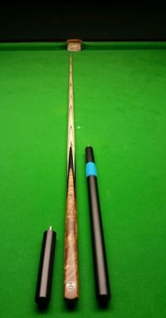 Hand made 1 #piece grand #emperor ash snooker cue - stiff #shaft & extensions , View more on the LINK: http://www.zeppy.io/product/gb/2/391669273185/