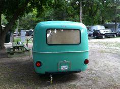 Pastel green boler rear.