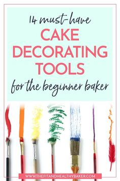 14 Cake Decorating Tools to Design the Cakes You Dream Of - The Fit and Healthy Baker Getting into cake decorating lately? Click through for 14 Cake Decorating Tools to Design the Cakes Cake Decorating Company, Creative Cake Decorating, Cake Decorating Supplies, Creative Cakes, Cookie Decorating, Buttercream Decorating, Cake Supplies, Cake Decorating For Beginners, Cake Decorating Techniques