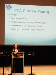 Congratulations to IFNA President (2013-2015) Dr. Kit Chesla for a job well done! #IFNAorg, #familynursing