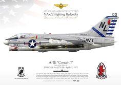 LTV A-7E Corsair II VA-22 NL-300