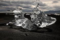 Jökulsárlón, Iceland, 16 June 2011. Ice diamond, from ICE: Portraits of Vanishing Glaciers