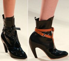 Louis Vuitton new booties Fall 2014  Fall 2014 Shoes And Bags From Ghesquiere's First Vuitton Collection FW14