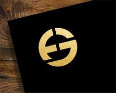 FG Logo design - Amazing concept. Price $300.00 P Logo Design, Ci Design, Graphic Design, Monogram Tattoo, Monogram Logo, Gear Logo, Life Logo, Golden Logo, Cool Lettering