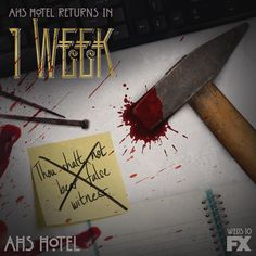 "American Horror Story Hotel ""Will John complete his work?"