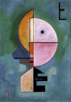 Wassily Kandinsky, Upward on ArtStack #wassily-kandinsky-vasilii-vasil-ievich-kandinskii #art