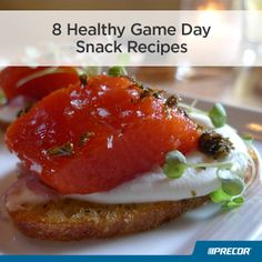 8 Healthy Game Day Snack Recipes