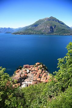 Lago di Lecco, Varenna, Lombardy, Italy.