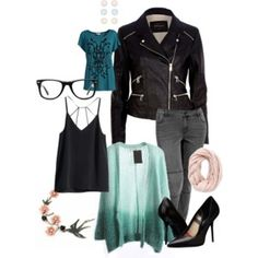 """""""Soft, A LIttle Edgy, Spring"""" by bexbean49 on Polyvore"""