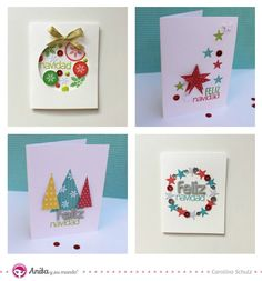 Merry Xmas, Christmas Cards, Paper Crafts, Lettering, Halloween, Gifts, Diy, Xmas Ideas, Stamps