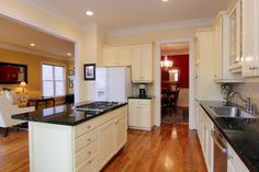 opening wall between kitchen and living room - Google Search